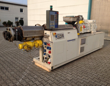 BATTENFELD Double screw extruder BEX 2-107-25