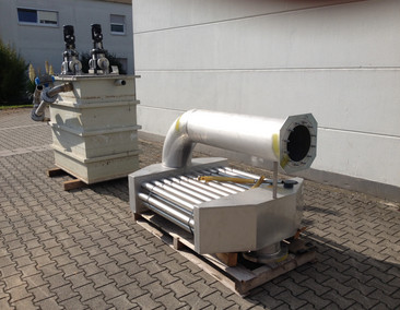 ELEKTROPLAST Unit for cross linking of PEX pipe coils E8K01087